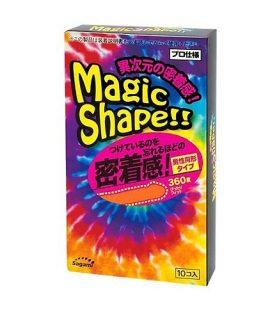 Bao cao su Sagami Magic Shape - Hộp 10 chiếc