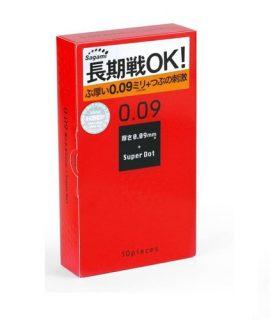 Bao cao su Sagami Super Dot 0.09 chính hãng