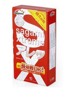 Bao cao su Sagami Xtreme Feel Long - Hộp 10 chiếc, chính hãng, giá rẻ