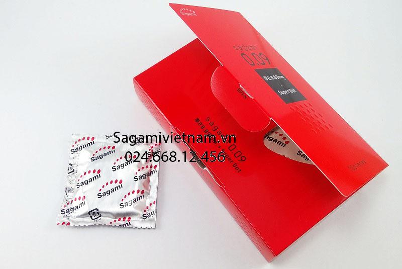 Bao cao su Sagami Super Dot 009 10 chiếc, kéo dài quan hệ cho Nam