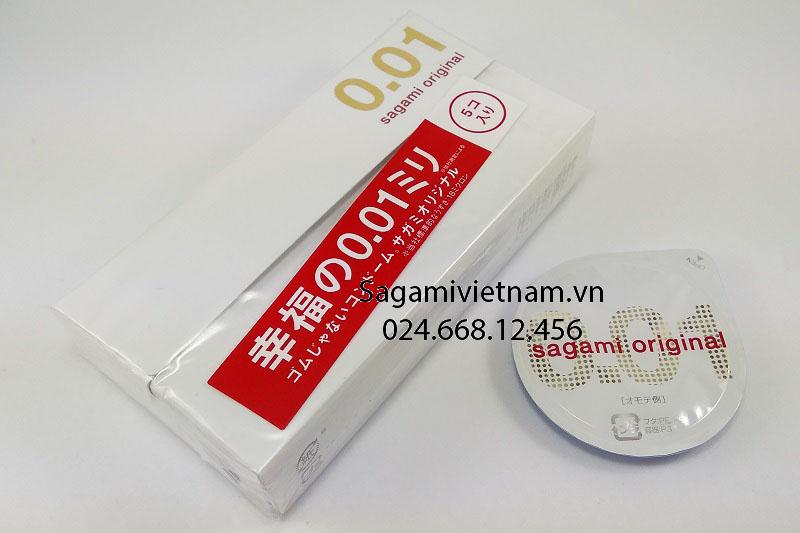 Sagami Original 001, shop bán giá rẻ tại Hà Nội