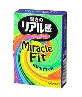 Bao cao su Sagami Miracle Fit hộp 5 chiếc, size nhỏ, chính hãng