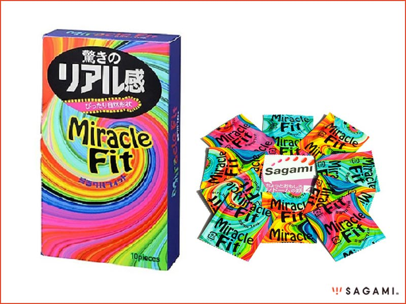 Bao cao su Sagami Miracle Fit size nhỏ 49 chính hãng