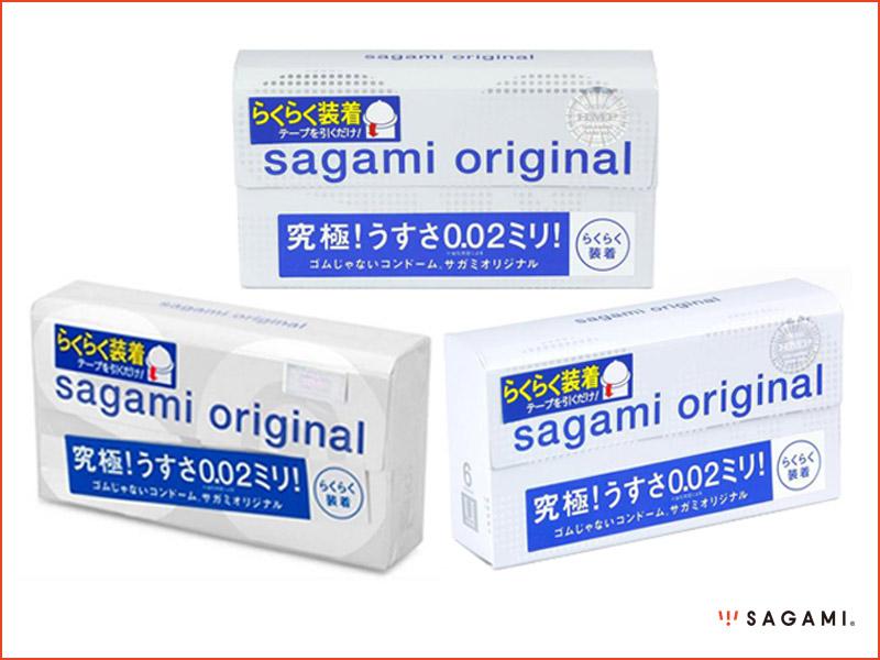 Bao cao su Sagami Original 0.02 Quick mua ở đâu